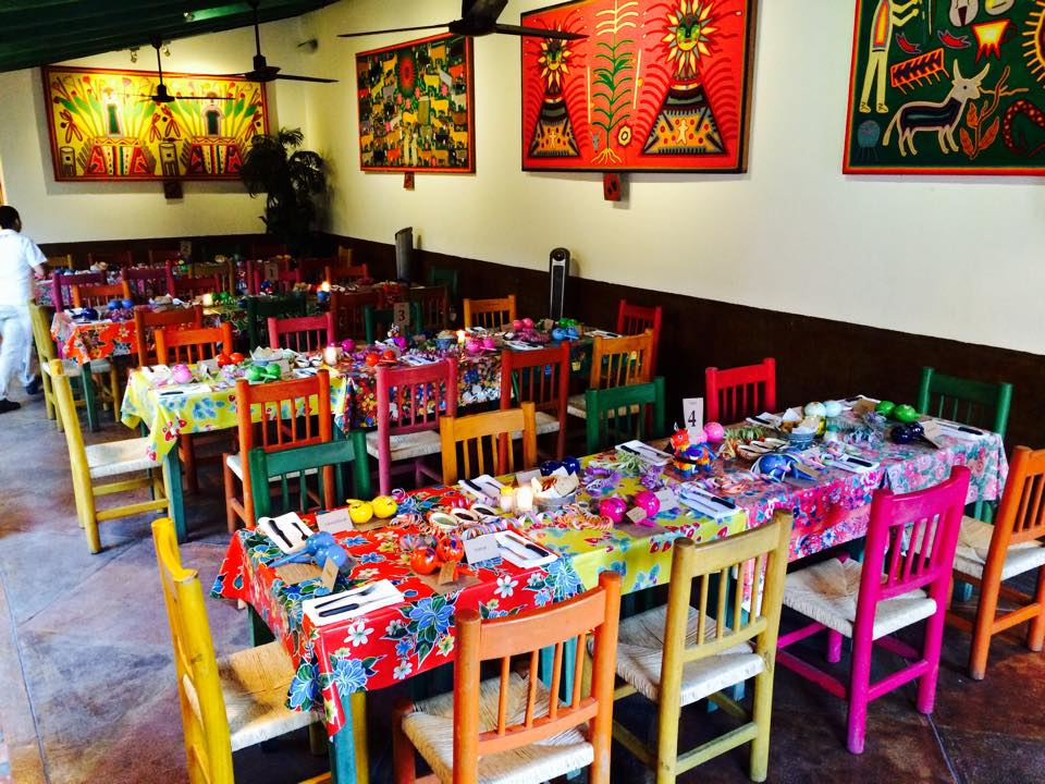Events service at El Arrayán Restaurant