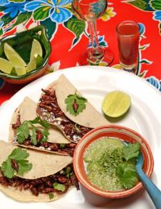 Tacos de Chapulines, Restaurante El Arrayán