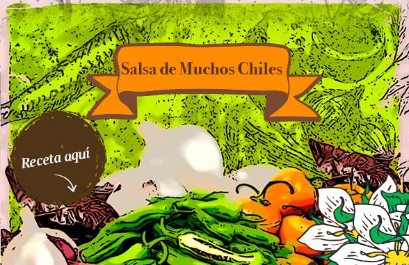 Salsa de Muchos Chiles