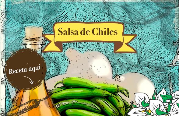 Salsa de Chile Serrano con Vinagre