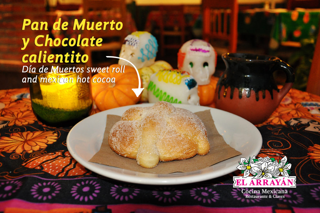 Pan de Muerto y Chocolate -FB