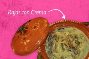 Receta de Rajas con Crema