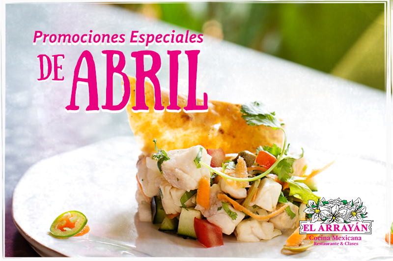 Promociones especiales de abril el array n for Abril salon de fiestas